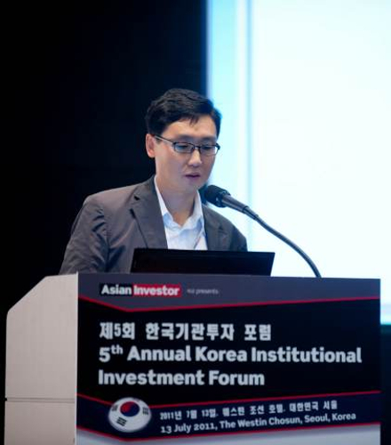 Jung Jong-yung, Postal Savings Fund Management