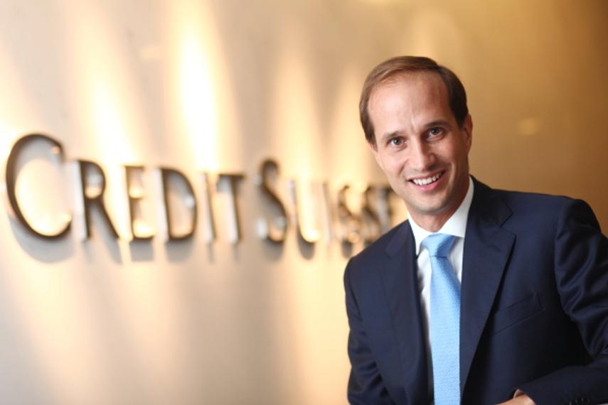 Francesco de Ferrari is eager to build a successful team culture at Credit Suisse private banking