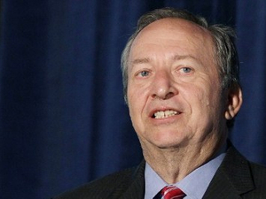 At NPS party, Larry Summers lauds Asian capital