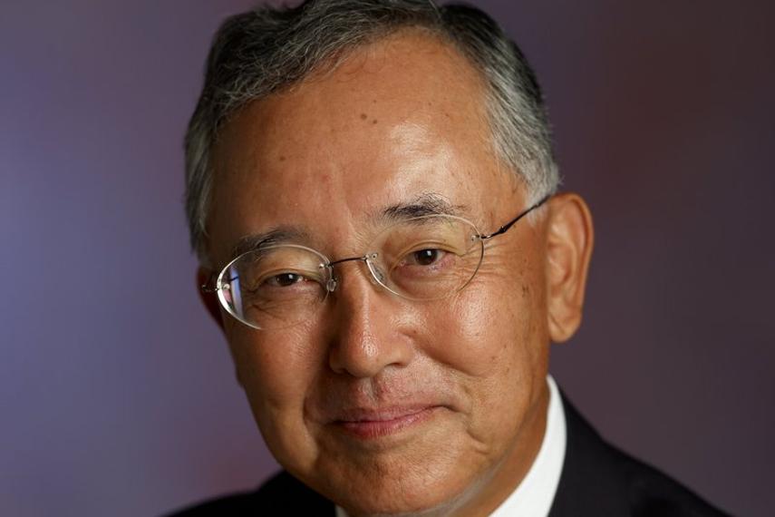Yoshihiko Miyauchi says Orix will pursue an expansion agenda
