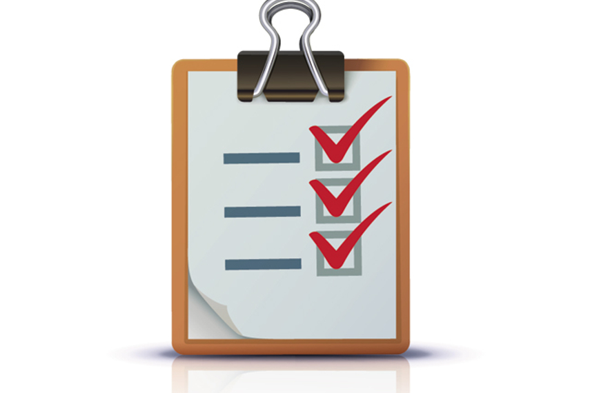 An e-trading compliance checklist designed for HK's e-trading rules
