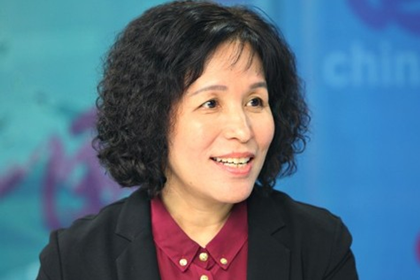 Feng Liying, president of CCB Pension