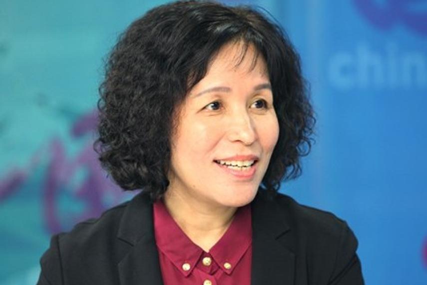 Feng Liying, president of CCB Pension