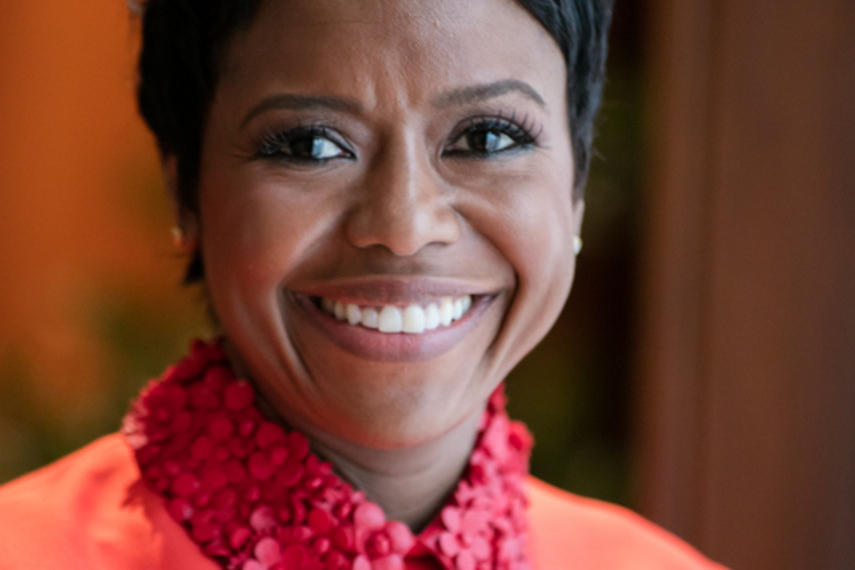 "Mellody Hobson likes to see grit in people and ""stick-to-it-ness"""