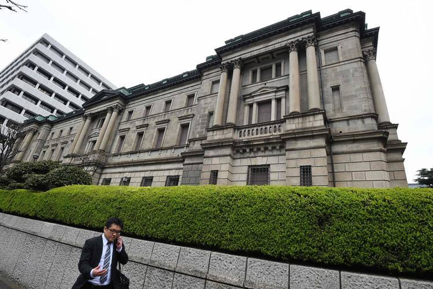 The Bank of Japan aims to buy ¥6 trillion ($59 billion) of ETFs a year