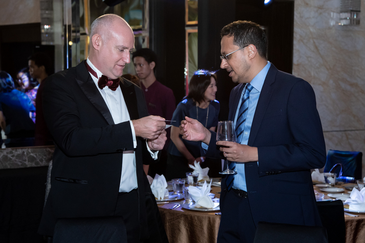 The Institutional Excellence Awards dinner took place at the Westin in Singapore on December 5