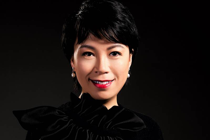 Gloria Lu, co-founder of Parantoux Capital, who will run the fund