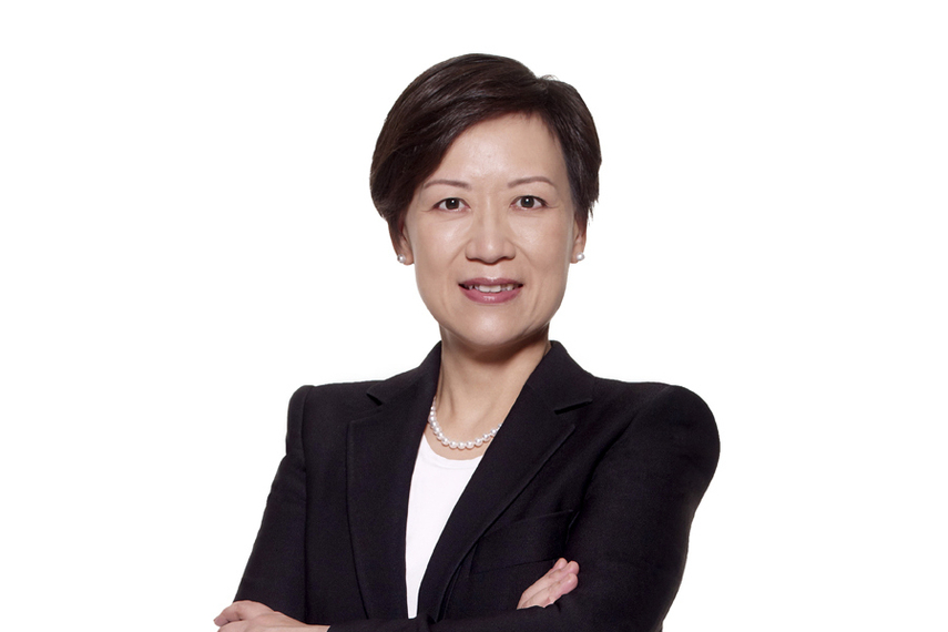 Kerry Ching started at AMP Capital yesterday in Hong Kong