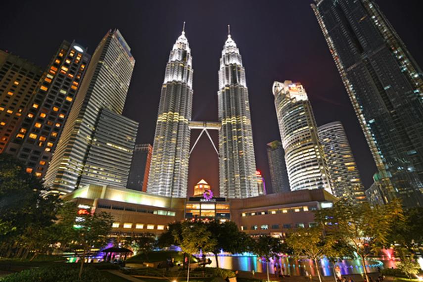 Kuala Lumpur City Centre: home to KWAP's headquarters