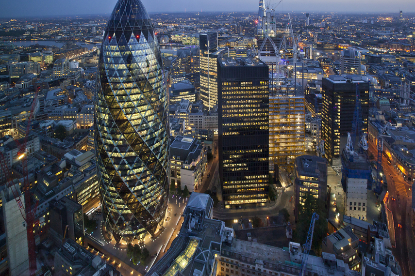 A number of Asian institutions have recently purchased landmark buildings in London