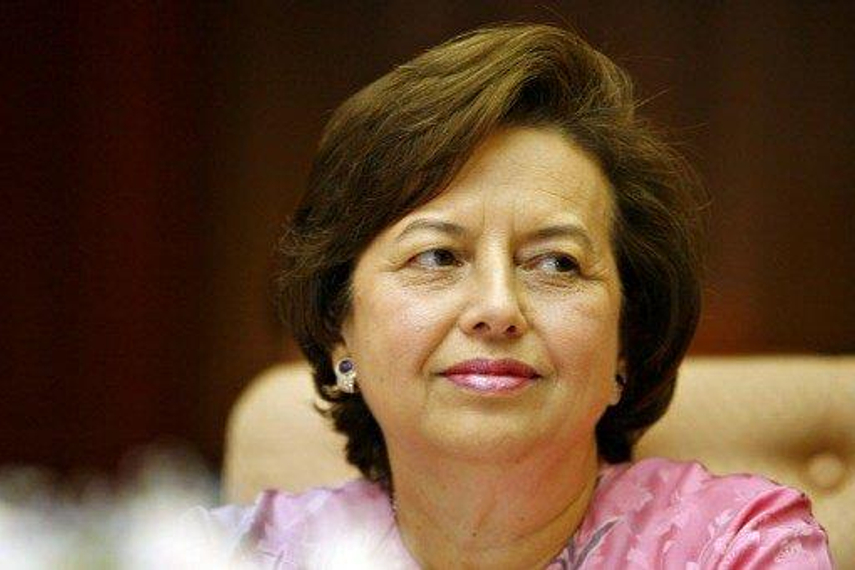 Zeti Akhtar Aziz, govenor of Bank Negara Malaysia which has just received $600 million in QFII quota