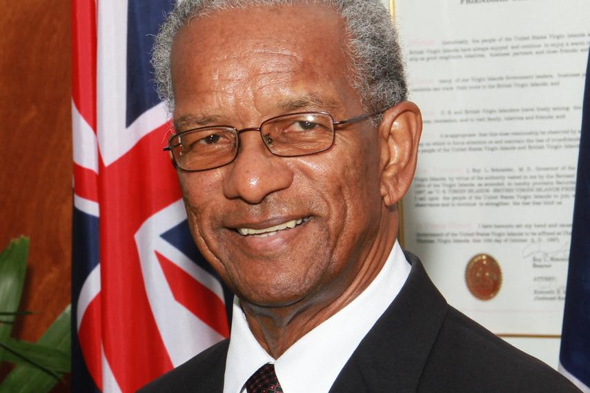 Orlando Smith, BVI premier