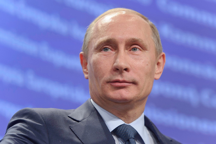 Vladimir Putin: Soliciting overseas funds