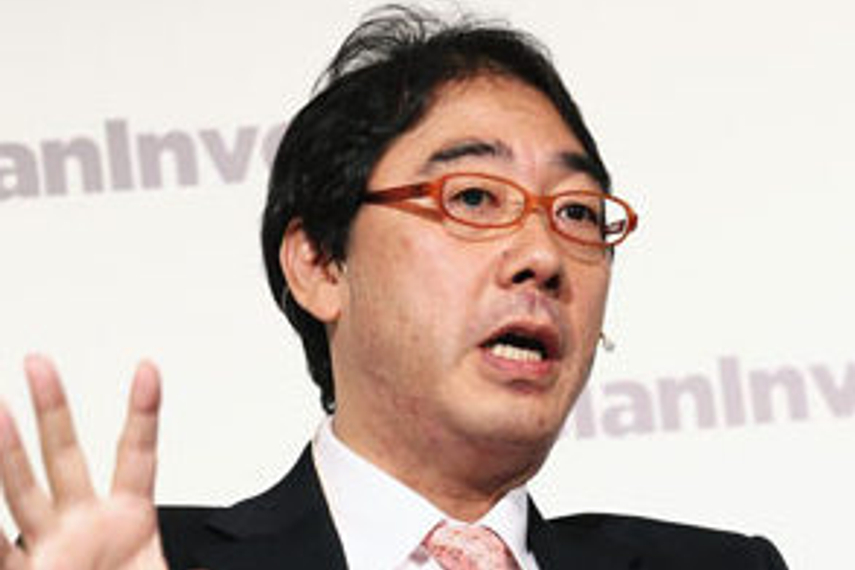 Tokihiko Shimizu, director-general of GPIF's research department
