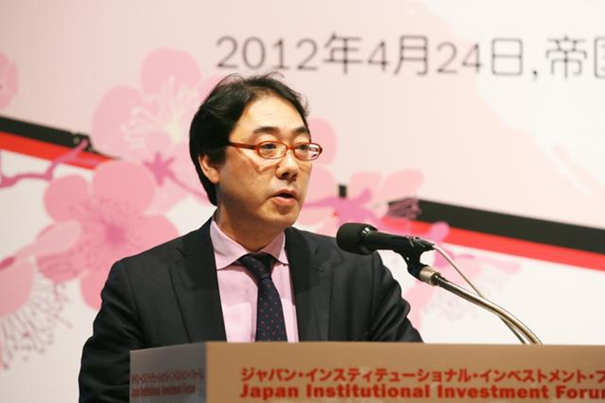 Tokihiko Shimizu, of the Japan Pension Investment Fund
