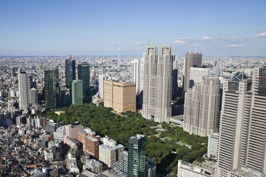 Shinjuku-ku in central Tokyo is among the locations for Tokyo Multifamily Partnership's newest acquisition.