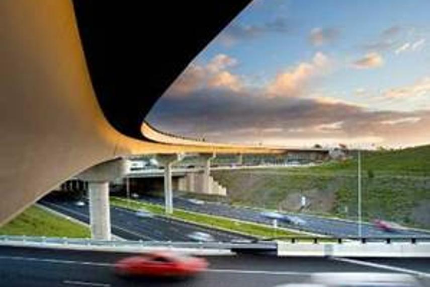Melbourne's Eastlink in action