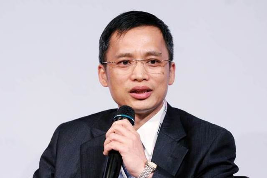 Tsay Feng-Ching, the new head of Taiwan's Bureau of Labor Funds
