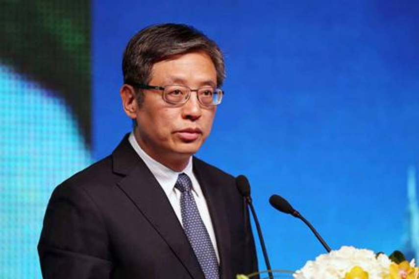 Tu Guangshao, reportedly CIC's new vice-chairman