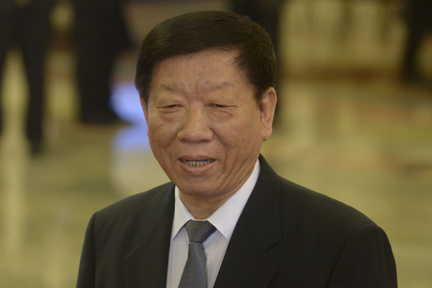 Yin Weimin: minister of the Human Resources and Social Security