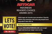 Autocar Indonesia Reader's Choice Awards 2015