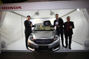 Honda Berikan 1 Unit Mobilio Untuk MPV di NBL 2015