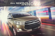 Ini Dia Sosok Toyota Kijang Innova Terbaru
