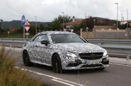 Spy Shot Mercedes C63 AMG Cabriolet