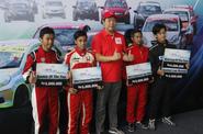 Pembalap Muda Dominasi Kejuaraan Honda Brio Speed Challenge