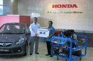 Honda Sumbangkan Brio Satya untuk Kabupaten Karawang