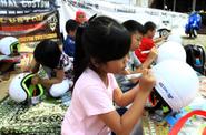 Kutu Community Gelar Lomba Mewarnai Helm di Bandung