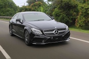 Mencicipi Mercedes CLS Hasil Tune-up Semi Sport