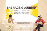 Lorenzo Main  ke Indonesia, Ceritakan Kisah Hidupnya