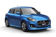 Tampilan Suzuki Swift Facelift 2017