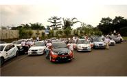 8 Komunitas Mobil Lakukan Touring Gabungan