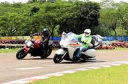 MBC Gelar Safety Riding di Sentul Kecil