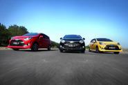 Mencoba Performa Toyota New Agya di Yogyakarta