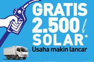 Lagi Promo, Isuzu Berikan 2.500 Liter Gratis