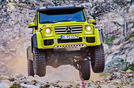 New Mercedes-Benz G500 4x4²