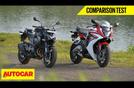 Perbandingan Honda CBR 650F vs Kawasaki Z800
