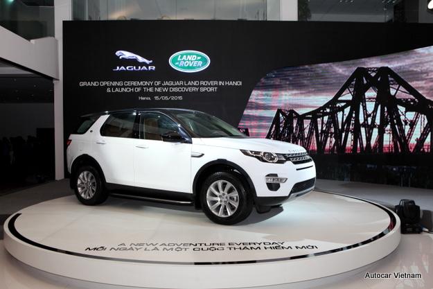 Giá xe Land Rover Discovery Sport 2015 Tại Việt Nam