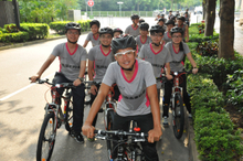 Pedal Forward to a Brighter Future CSR Campaign 2013