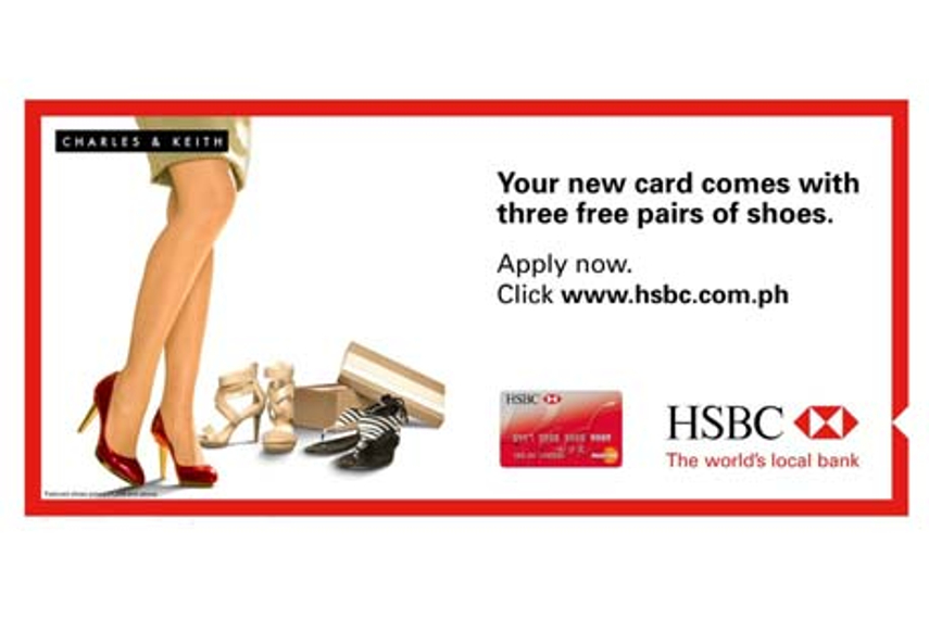 CASE STUDY: HSBC Red's mobile ads tempt women with free shoe