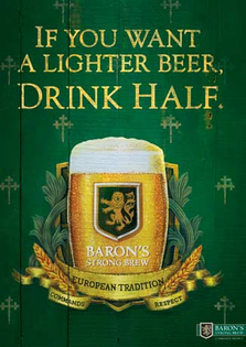 Y R Launches Baron S Strong Brew Campaign In Singapore
