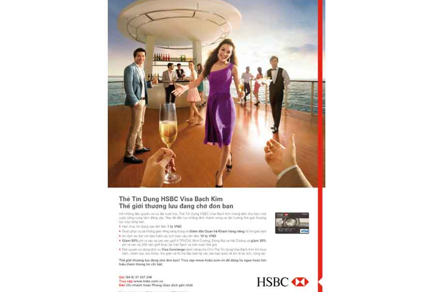 HSBC launches campaign for new credit card in Vietnam | Marketing