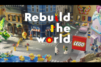 Lego launches first brand campaign in 30 years
