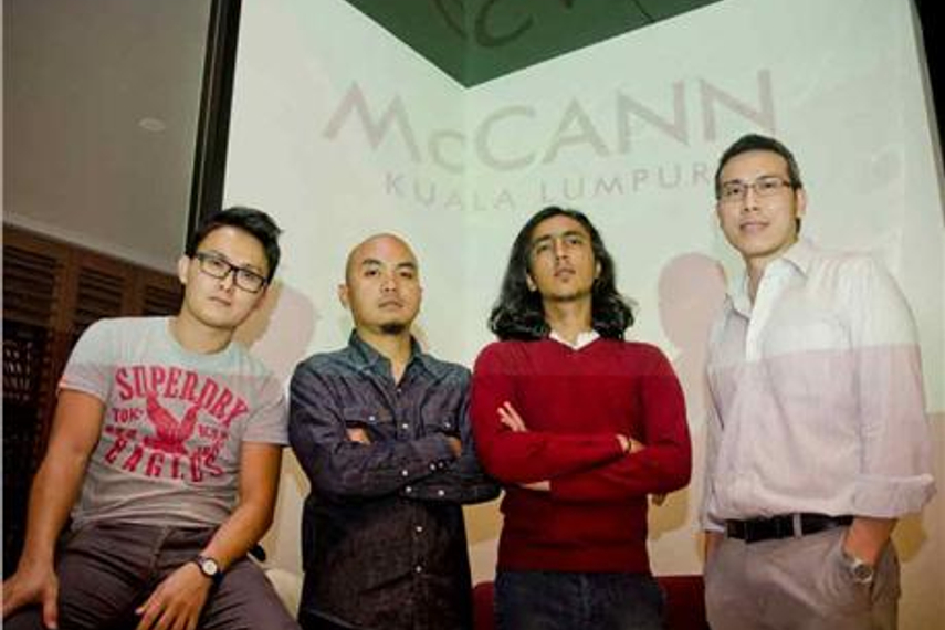 From left: Ng, Reza, Jamal and Loh