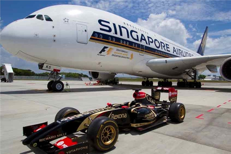 Delay in sponsorship recognition for Singapore Grand Prix