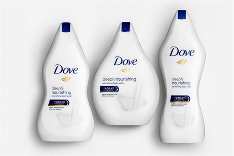 Dove's body-shaped bottles backfire