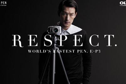 Olympus PEN's latest ad campaign calls for 'respect' in photography